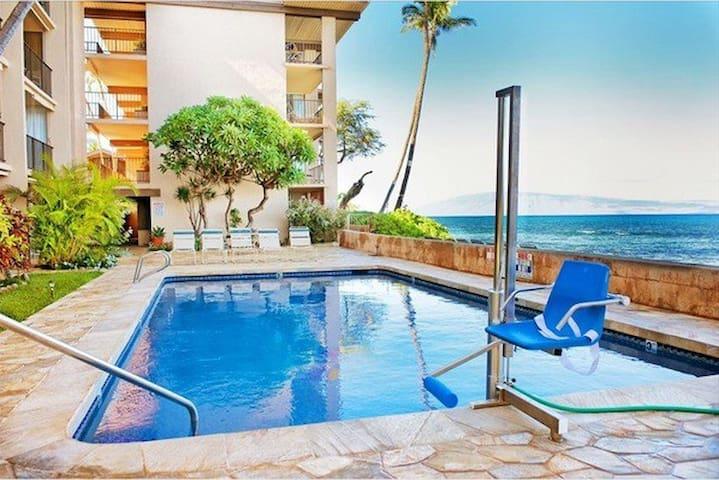 Oceanfront Condo - Nohonani Resort  - Lahaina - Apartamento