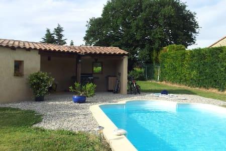 VILLA WITH SWIMMING POOL IN PROVENC - Sainte-Cécile-les-Vignes - Rumah