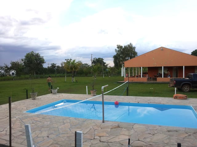 PARADISE12km from the ArenaPantanal - Cuiabá - Bed & Breakfast