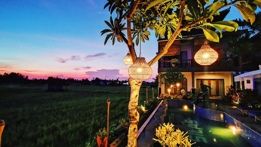 Brand New Unique Stylish Villa In Ubud Town Area