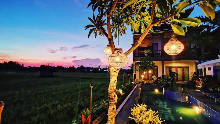 Brand New Unique Stylish Villa In Ubud Town Area