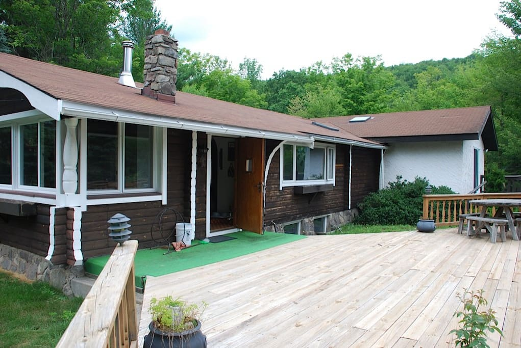 Large exterior deck….Summer BBQ anyone?