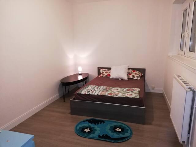 Chambre privée à louer dans un Jolie appartement.