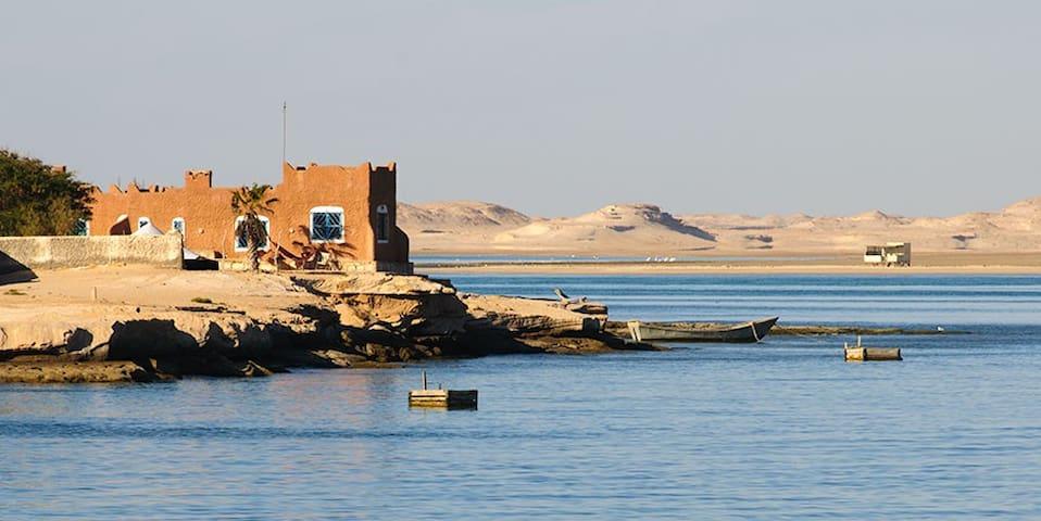 Chambre dans villa écologique au bord de l'eau - Nouadhibou - Earth House