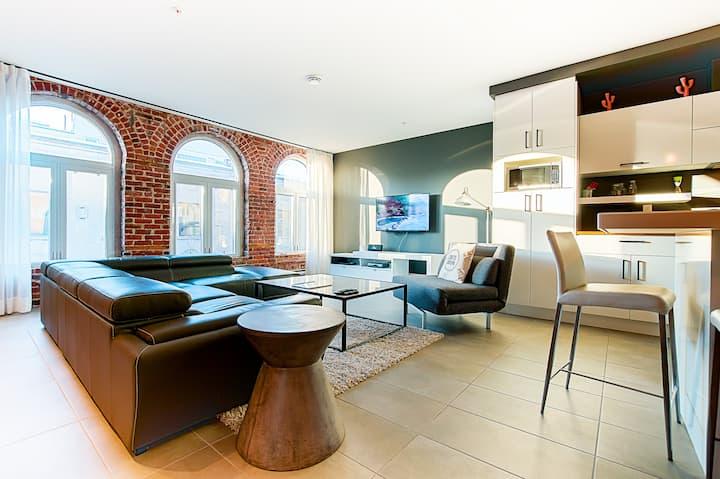 Luxury 2-bedroom apartment downtown Quebec City