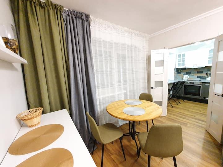 Хорошая двухкомнатная квартира с отличным ремонтом
