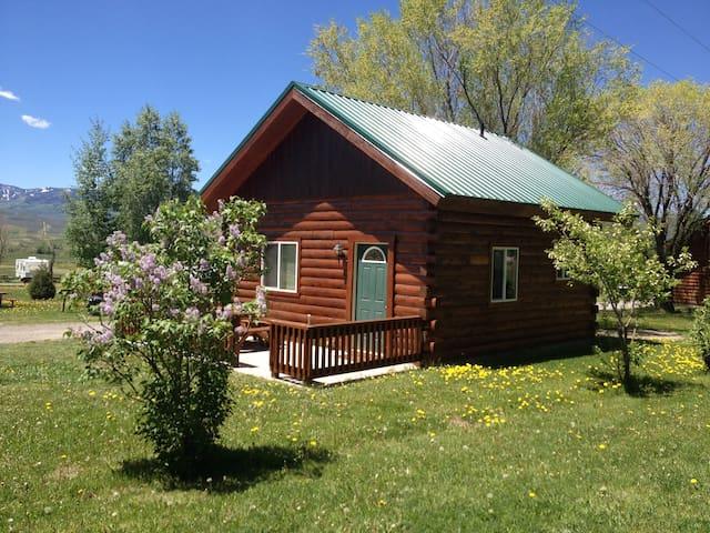 Wapiti Cabin in Cimarron Valley - Cimarron - Cabane