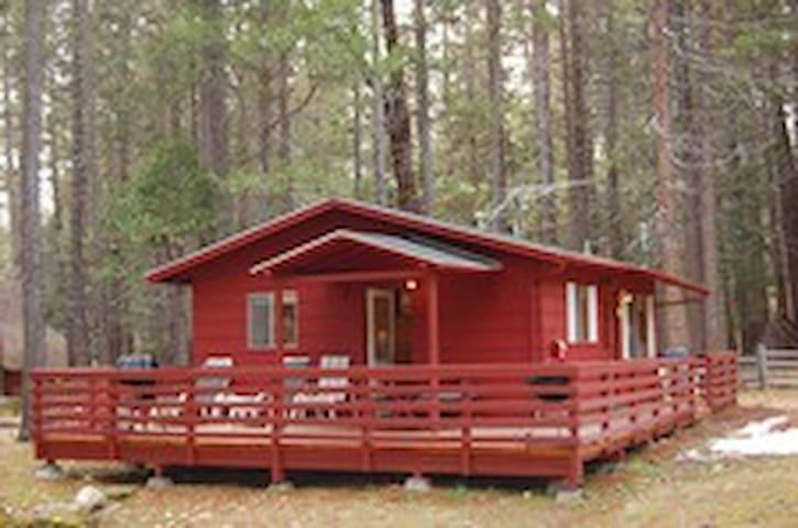 Camp Chilnualna Riverside Cabin 7 in Yosemite