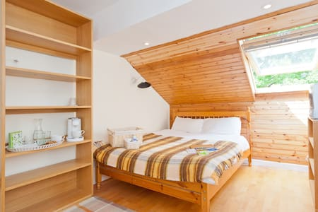 Bright Double Room in Penthouse Apartment in City - Milltown