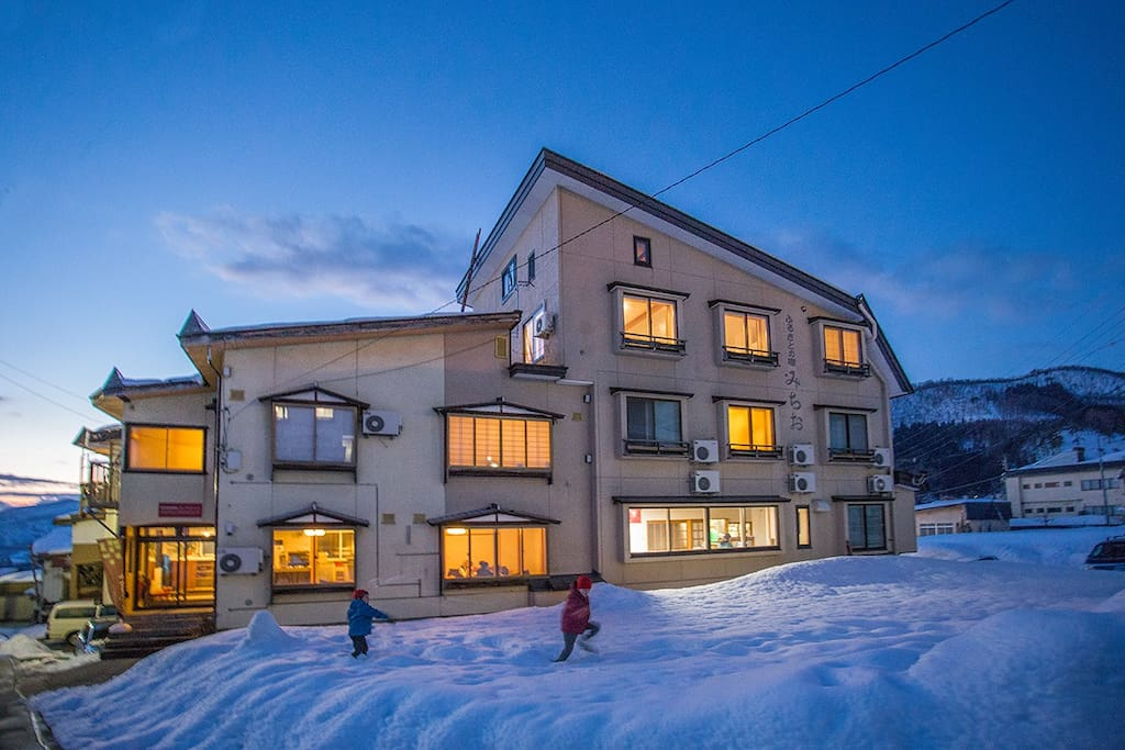 Nozawa Central a great place to stay year round