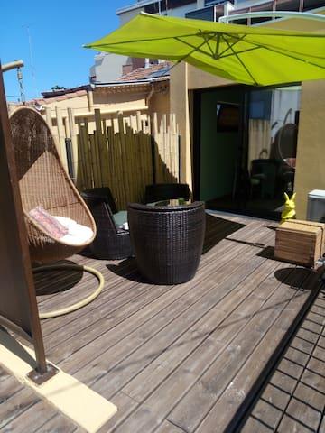 Apartment downtown terrace - Montpellier - Apartmen