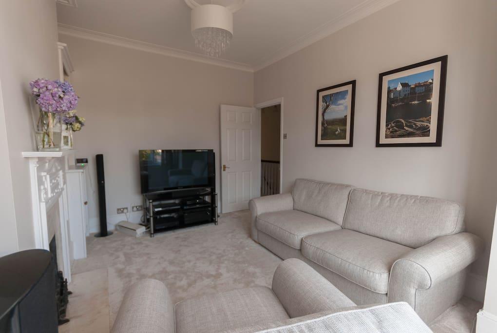 Lounge with Sky TV