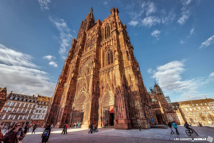 EXTRA-CATHEDRALE-2P DUPLEX-confortable et cosy- - Strasbourg - Appartement