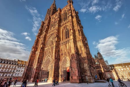 EXTRA-CATHEDRALE-2P DUPLEX-confortable et cosy- - Strassburg - Wohnung
