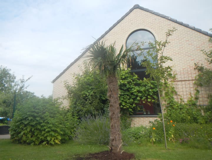Comfortable, quiet house near the river Scheldt,