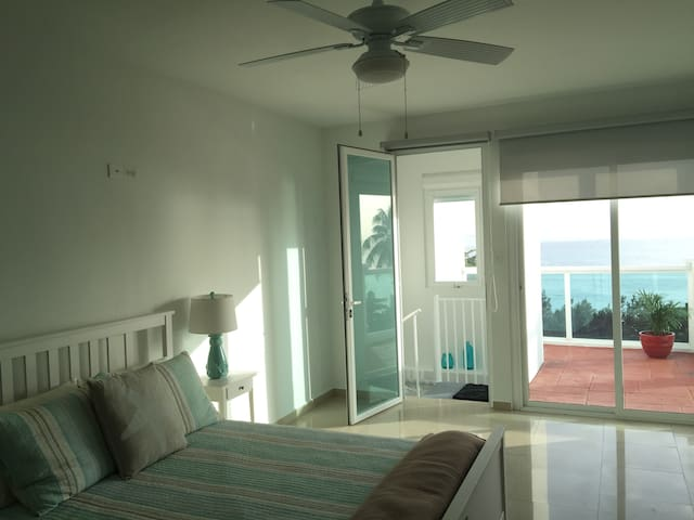 Beautiful Sunset Beachfront Penthouse at Rincon. - Aguada - Lejlighed