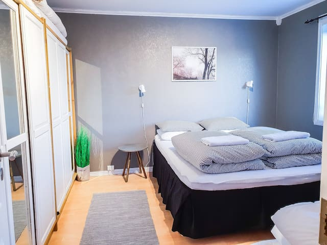 Main Bedroom equipped with one double and one single bed