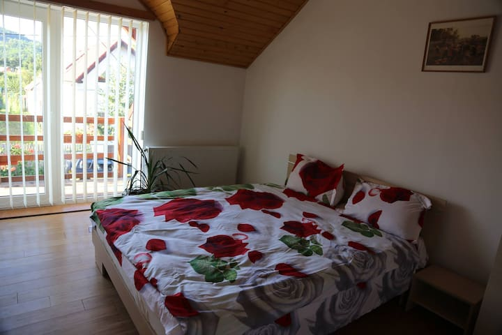 Your room in Piatra Craiului National Park
