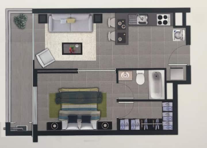 Apart hotel -Dpto Excelente Ubicación central Anf