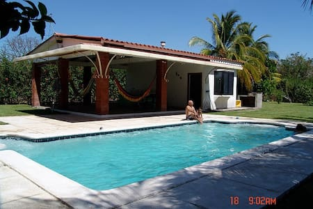 Lovely vacation home at Villas de Salinitas III - Acajutla - Ferienunterkunft