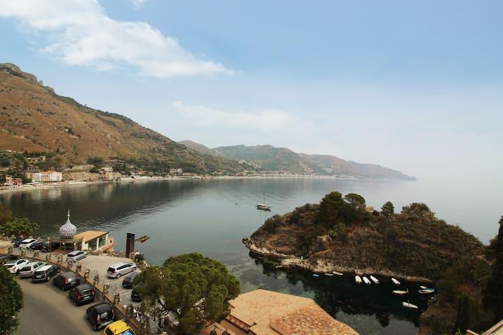 Flat in Taormina Sea - Amazing view