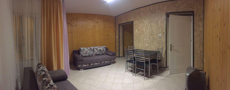 Restroom view 2