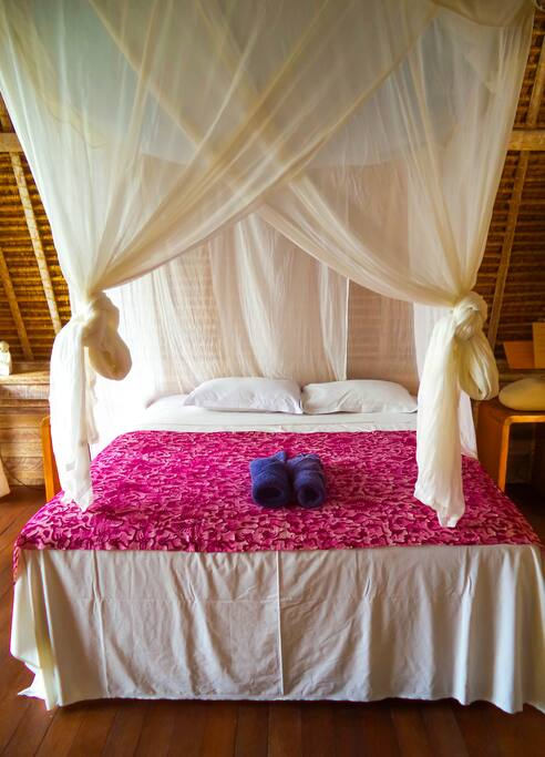 Romantic and cozy beds