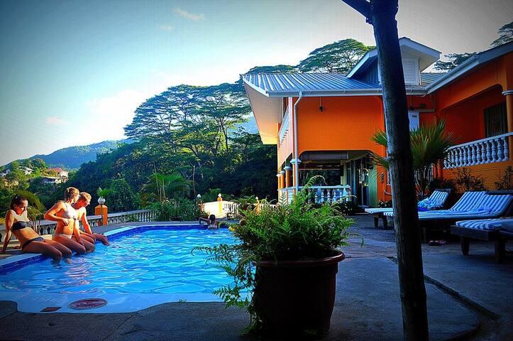 Albizia Lodge Room 5 (free fast wifi) Seaview