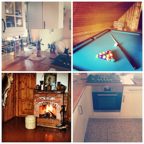 Дом 150 кВм, баня,  бильярд, джакуз - Iksha - Casa
