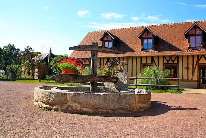Domaine de la Baudrière - - Verneusses - ที่พักพร้อมอาหารเช้า