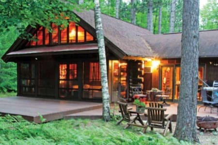 Beautiful Cozy Lake Cabin in Woods - Manitowish Waters - Rumah