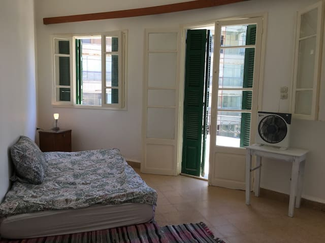 1 private sunny bedroom in 1960s Beirut apartment