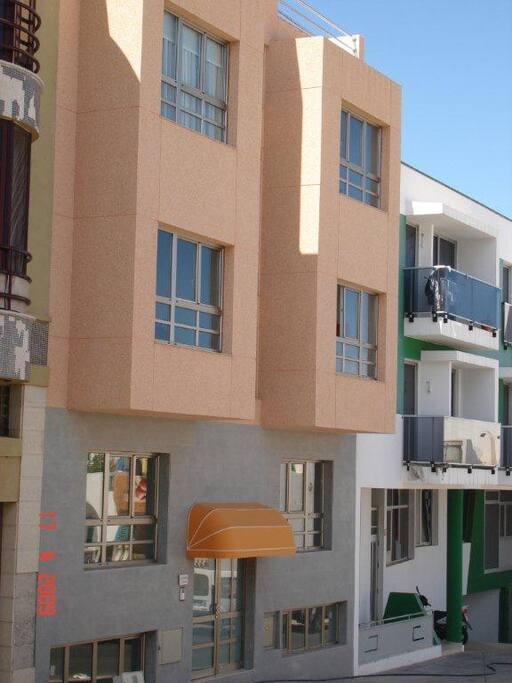Exterior y fachada del edificio