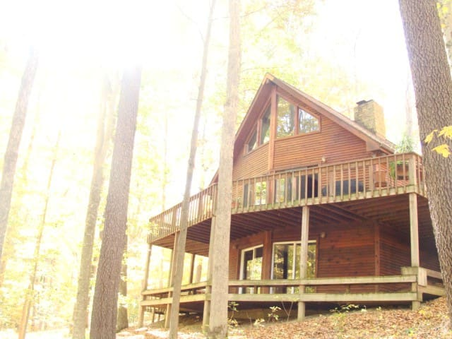 Wooded &Fabulous Brown County Cabin