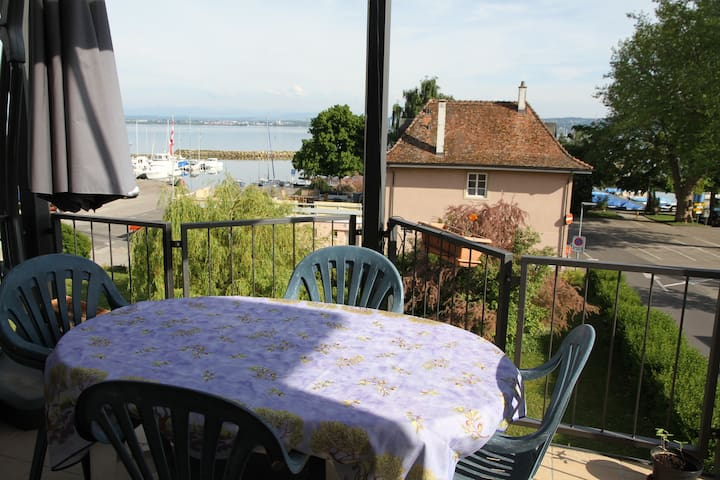 Nice Duplex Apart close to the lake - Saint-Aubin-Sauges - Apartamento