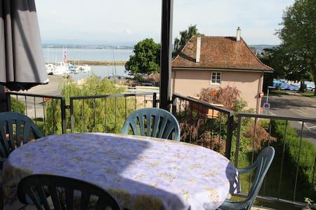 Nice Duplex Apart close to the lake - Saint-Aubin-Sauges