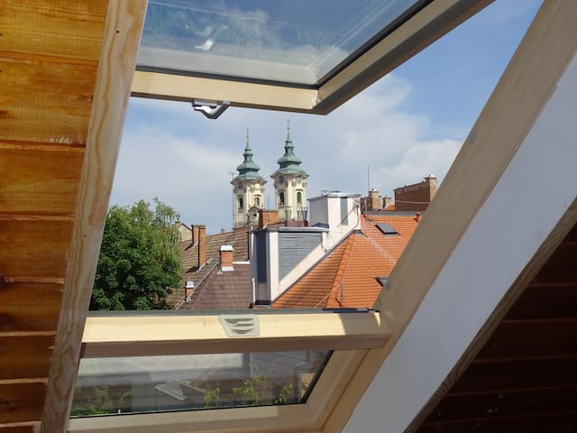 Friendly apartment in the center - Eger - Appartement