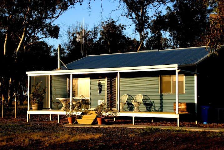 Family Cottage Blue