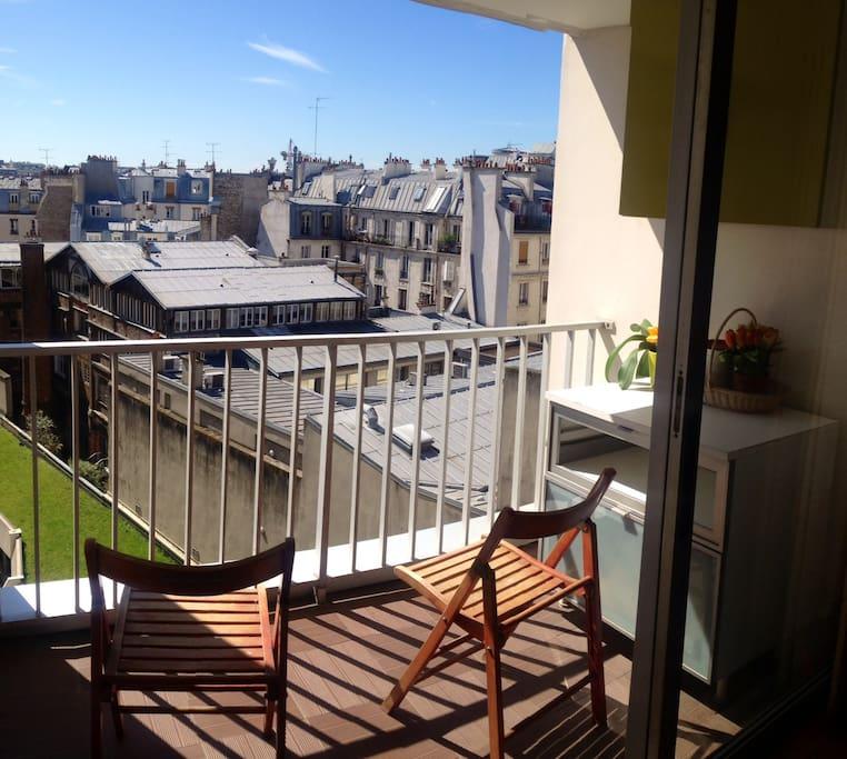 Cosy 60m2 av balcon piscine appartements louer for Appartement avec piscine paris