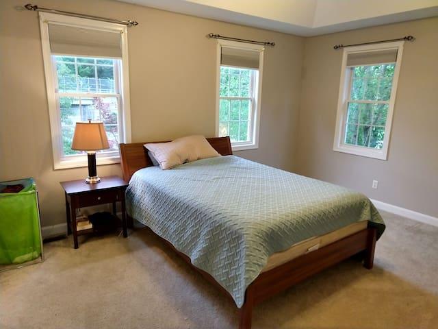 Master bedroom with amenities