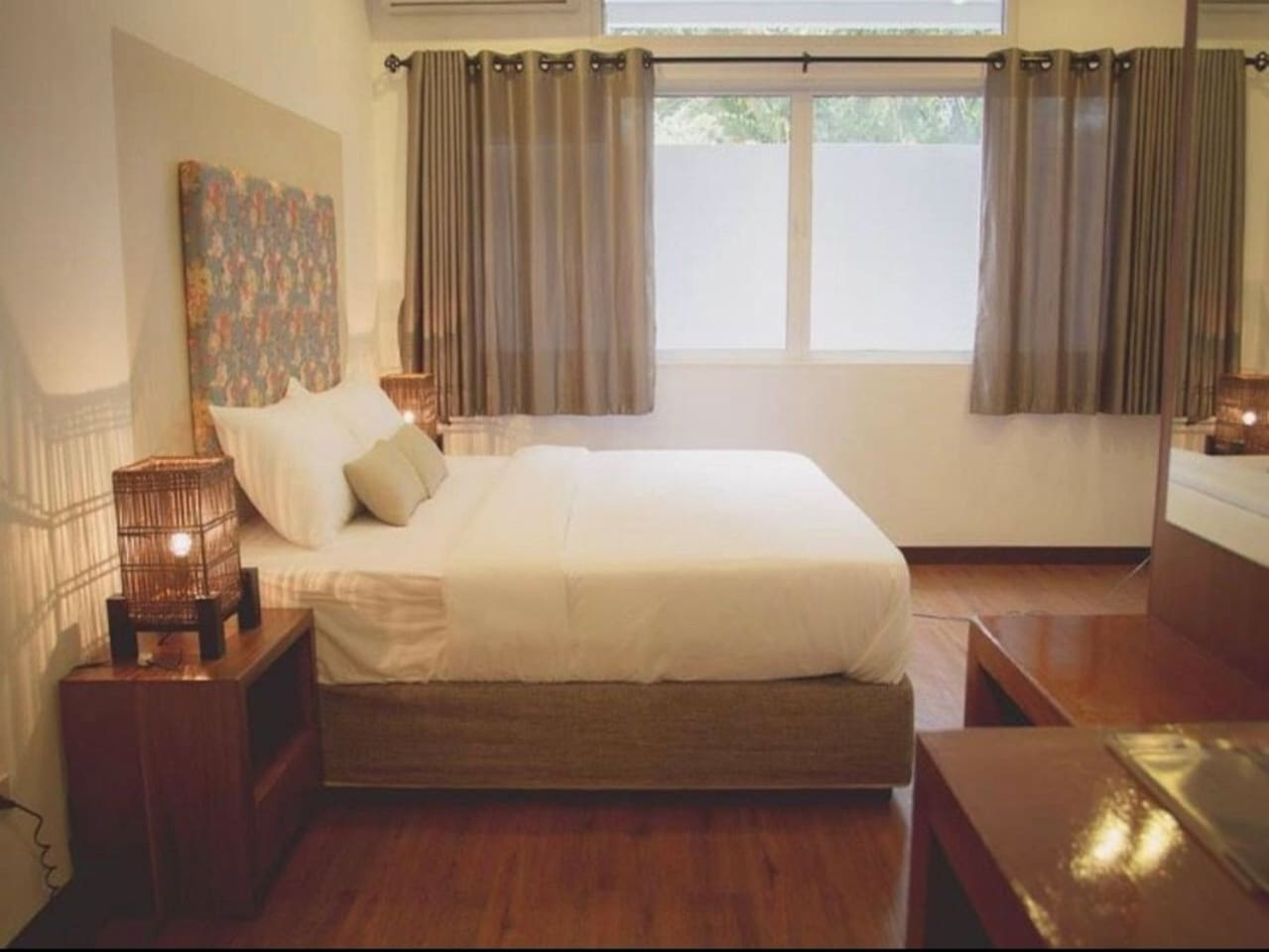 Comfy Bedroom with double bed