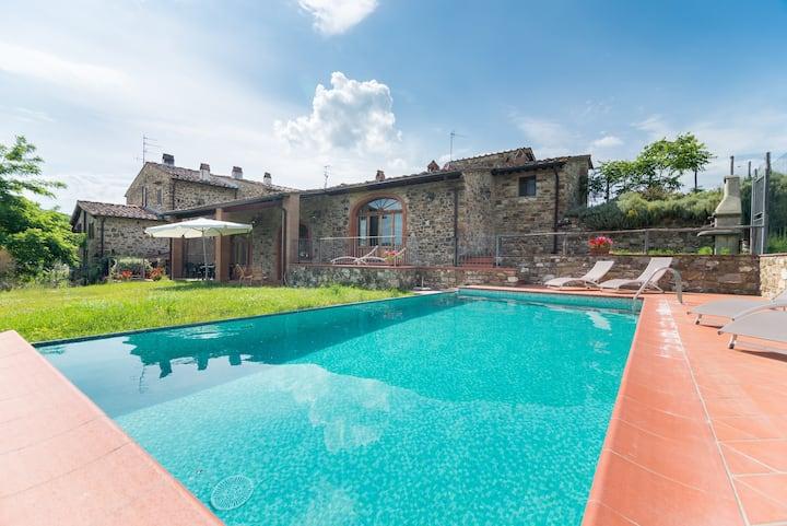 Chianti Villa with swimming pool