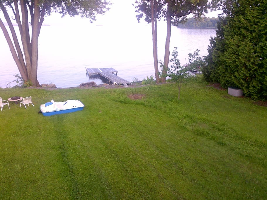 Great Private beachfront on Lake Champlain