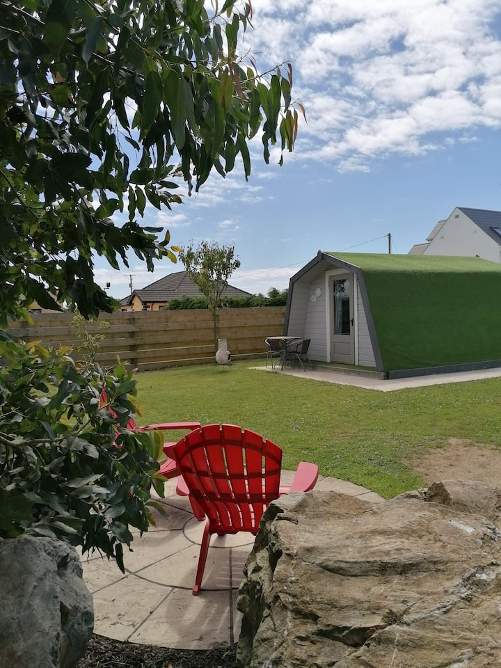 Teach Beag luxury camping in rural location.