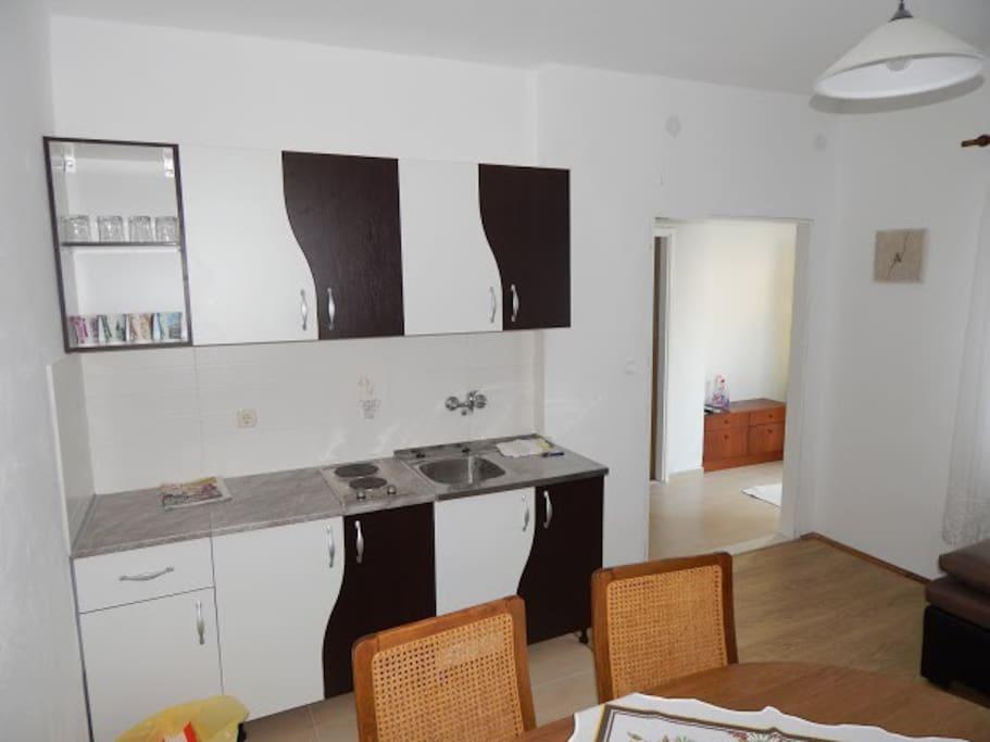 apartment ground floor minicase in affitto a starigrad paklenica regione spalatino dalmata. Black Bedroom Furniture Sets. Home Design Ideas