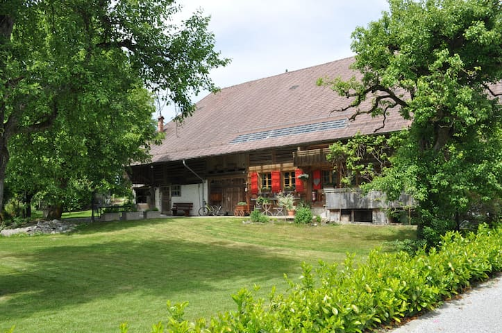 HERITAGE FARMHOUSE 10Min.from Thun - Thierachern - Appartement