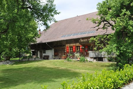 HERITAGE FARMHOUSE 10Min.from Thun - Apartamento
