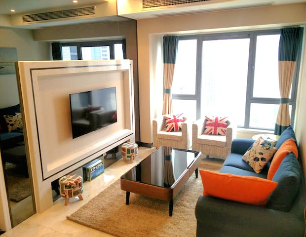 Discount!! City Centre Luxury Apt - Chengdu - Appartement