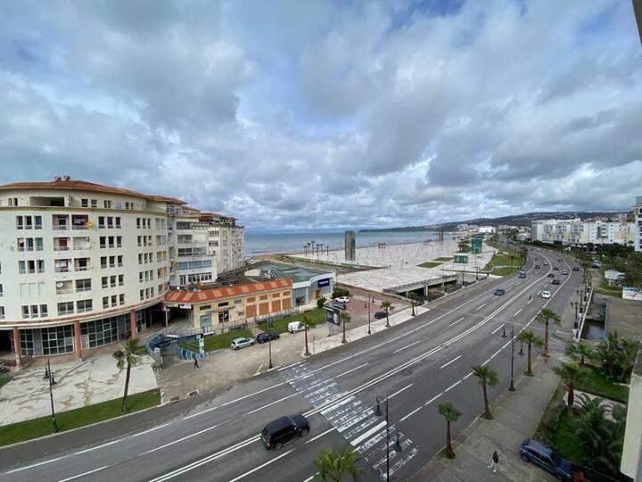 Appartement au coeur de Tanger avec vue sur mer