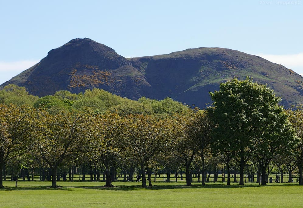 Located 5 minutes walk from Edinburgh Meadows with views of Arthur's Seat!
